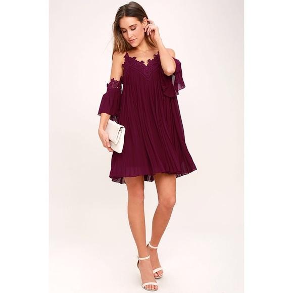 80ce291088e4 Lulus Lace Off The Shoulder Dress